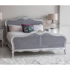 Rococo Bed Frame Madeleine Rococo Bed Silver Leaf 5 6 Fads