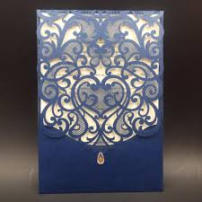 12pcs wedding invitations card laser cut love heart invitation