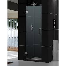 24 Frameless Shower Door Dreamline Unidoor 24 In Frameless Hinged Shower Door Free