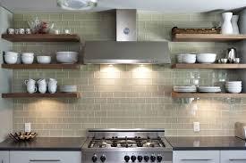 beautiful kitchen with glass tile backsplash u2014 dekkoren