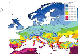 Europe Temperature Map by Interface Between Pest Risk Science And Policy The Eppo Perspective