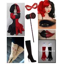 Harley Quinn Halloween Costume Harley Quinn Polyvore