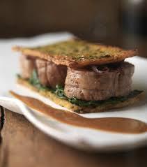 cuisiner rognons de veau recette de marc haeberlin rognons de veau en mille feuille