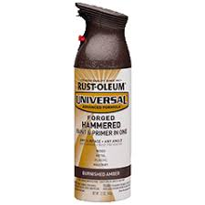 universal forged hammered spray paint product page