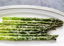 baked asparagus with parmesan recipe simplyrecipes com