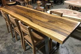 natural live edge dragon wood slab table or deskimpact imports