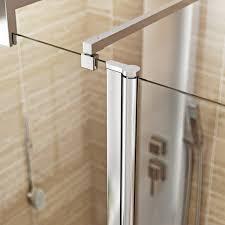complete walk in shower enclosure system 1600 x 800 victoriaplum com