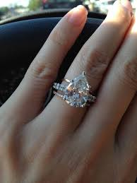wedding diamond wedding diamond pear shaped diamond wedding ring 2045887 weddbook
