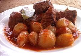 beef stifado recipe greek beef stew my greek dish