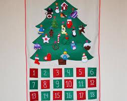 tree advent calendar 29 ornaments made