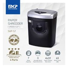 Best Home Office Shredder Mkp Paper Shredder Shp S7 7 Sheets Cross Cut Lazada Malaysia