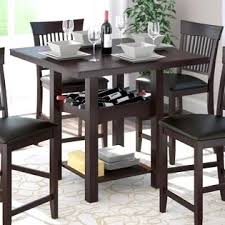 dining table with wine storage extraordinary dining table wine storage dinette table with wine rack