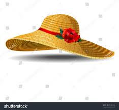 summer hat stock vector 278465435 shutterstock