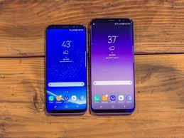 photos of samsung u0027s galaxy s8 galaxy s8 smartphones hands on
