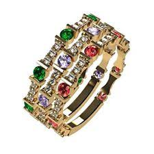 stackable birthstone rings for mothers stackable mothers ring ebay