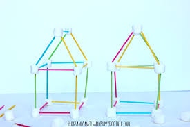 toothpick house toothpick and marshmallow building fspdt