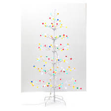 shop living 5 gumdrop artificial tree with multicolor led