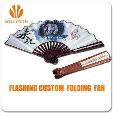 hand fans for sale good promotion products logo printing led light up hand held folding