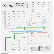 Septa Rail Map Submission Unofficial Map Septa Regional Rail Transit Maps