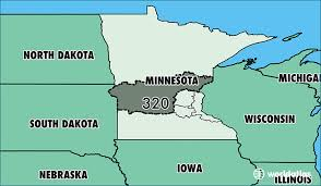 map of area codes where is area code 320 map of area code 320 cloud mn