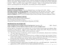 curriculum vitae format sle doctor resume literarywondrous medical objective berathen com for