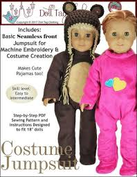 18 Doll Halloween Costumes 18 Doll Clothes Patterns Costumes American Doll