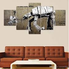 Wall Art Paintings For Living Room Paintings Wholesaler Cocoart2016 Sells 5 Panels Artwork Canvas