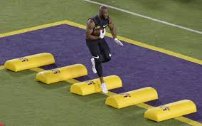 how weight conscious leonard fournette attained lsu pro day goal