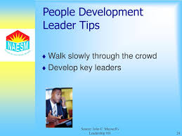 ppt excerpts from john c maxwell u0027s leadership 101 powerpoint