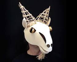 capricorn goat masquerade mask for men women or children