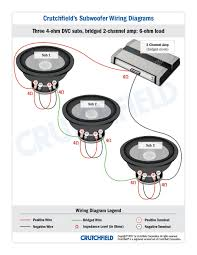 top 10 subwoofer wiring diagram free download 3 dvc 4 ohm 2 ch top
