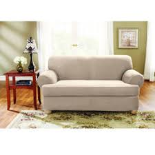 2 piece t cushion loveseat slipcover