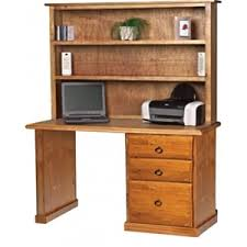 Pine Desk With Hutch Norfolk Pine Desk And Hutch Auction 0010 1702446 Graysonline