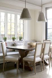 Best Dining Banquettes And Benches Images On Pinterest - Dining room banquette bench