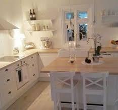 landhausküche ikea grau küche weiße stühle ziegel pinteres
