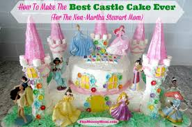 how to make the best castle cake ever for the non martha stewart