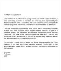 sample letter of recommendation for teaching position reading