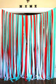 streamer backdrop streamer decoration ideas for baby shower best decorations on