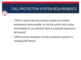 Osha Chair Requirements Overview Of Proposed Changes To Osha 1910 General Industry Regulations