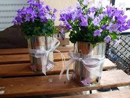Tin Vases Potted Flower Arrangements U2013 Eatatjacknjills Com