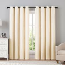 Sears Window Treatments Clearance by Dark Room Bailey Solid Basketweave Window Panel