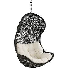 Chair That Hangs From Ceiling Hanging Pod Chair Indoor Ikea Ekorre Antique Brown Egg Shape For