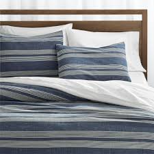 Blue Spot Duvet Cover Update Bedrooms With Stylish Duvet Covers Crate And Barrel