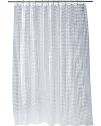 Shower Curtain Clear Winter Bargains On Cubic Shower Curtain Clear Room Essentials