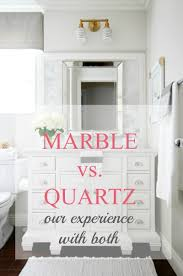marble vs quartz a thoughtful place