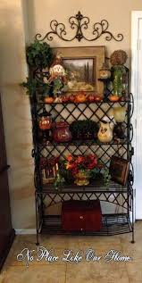 Decorating A Bakers Rack Ideas No Place Like Our Home