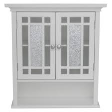White Wall Bathroom Cabinet Riverridge Home Bathroom Wall Cabinets Bathroom Cabinets
