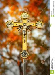 jesus christ on cross royalty free stock images image 35861129