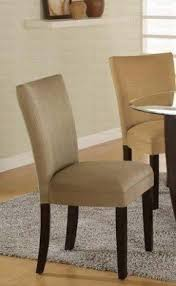 Microfiber Dining Room Chairs Microfiber Parson Chairs Set Foter