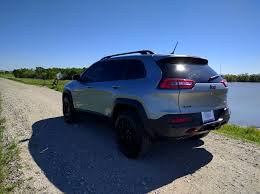 jeep cherokee dakar bought a new trailhawk time for summer camping trailing
